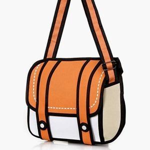 3D 2D Cartoon Messenger bag from Universal